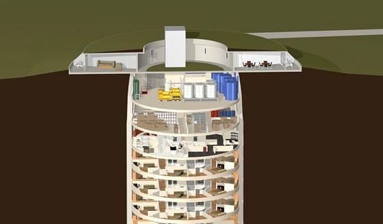 Luxusn� bydlen� v podzem� je ur�en� pro movit�j�� lidi, kte�� se boj�