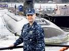 """""""JEHO"""" PONORKA. Ian Johnson, velitel americk� ponorky USS Connecticut, kter�"""