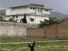 Vila, ve které americké komando zabilo teroristu Usámu bin Ládina na snímku z...