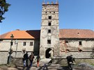 Brtnický zámek stále chátrá.