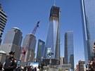 Freedom Tower (1WTC) v New Yorku se brzy stane nejvyšší budovou města