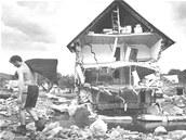 Následky záplav v roce 1997 byly katastrofální.