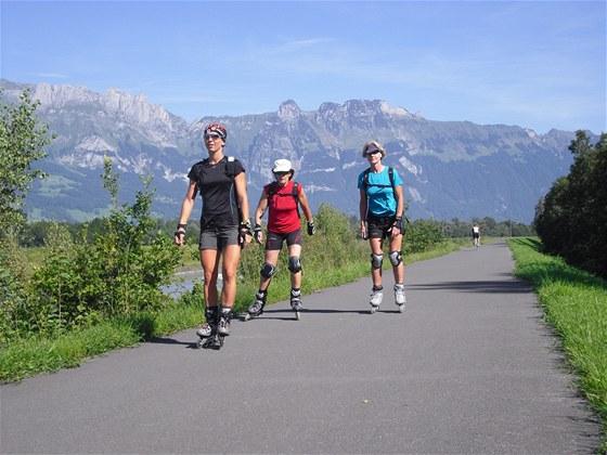 Aktivn� dovolen� na brusl�ch s CK TRIP