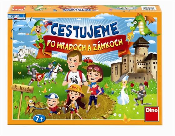Cestujeme po hradech a zámcích: zábavná hra pro každou rodinu