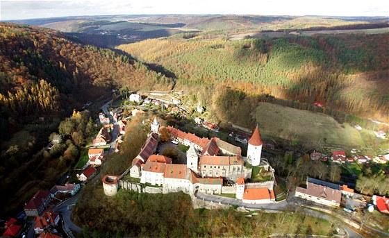 Středočeský královský hrad Křivoklát