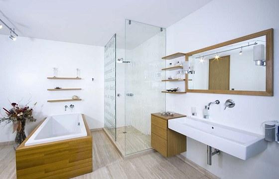 Majitel domu si p��l vyu��t kvalitn� materi�ly, pokud mo�no �esk�ho p�vodu.
