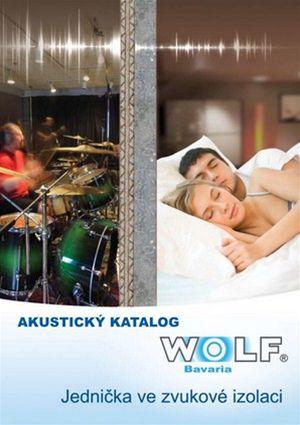 zvukově izolační desky WOLF®