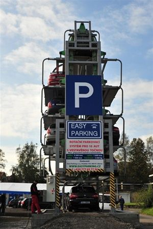 Zaparkovat rychle, snadno 2