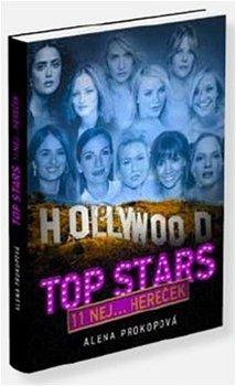 Alena Prokopová - Hollywoodské Top Stars (přebal knihy)