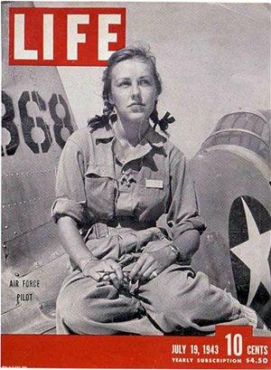 Shirley Slade od WASP na obálce časopisu Life
