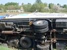 Litomyšlští hasiči zasahovali u nehody, při níž se střetla dvě nákladní a dvě