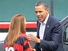 Dres Flamenga s desítkou věnovala Baracku Obamovi