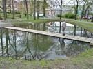 Rybníček v Městských sadech: cena přes 2 miliony Kč