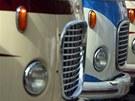 Ukázka z produkce autobusů Karosa při oslavách 110 let firmy v roce 2005