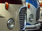 Uk�zka z produkce autobus� Karosa p�i oslav�ch 110 let firmy v roce 2005