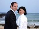 Jan Maxián si vzal přítelkyni Lucii na pláži