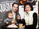 Jan Maxián ukázal svou devítiměsíční dceru na valentýnském představení muzikálu