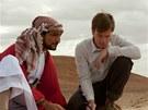 Amr Waked, Ewan McGregor a Emily Bluntová ve filmu Lov lososů v Jemenu