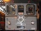 Historick� souprava metra E�s