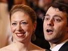 Chelsea Clintonová a její manžel Marc Mezvinsky