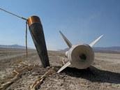 Raketa dopadla necelých pět kilometrů od místa startu.