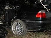 Tragick� nehoda u Hro�ky na Rychnovsku (21. dubna 2012)