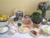 Ingredience, které potřebovali účastníci sobotního vaření s Ivetou.
