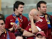 TO SNAD NE. Sparťanští fanoušci nemůžou uvěřit, že jejich tým ztratil šanci na...