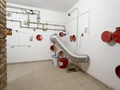V suter�nu domu je v�e p�ipraveno pro dokon�en� instalac� modern�ch