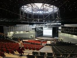 Vidíte naprostý evropský unikát - koncertní sál v bývalém plynojemu. (1. května