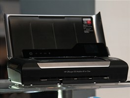 HP pr� jako prvn� na sv�t� vyrobil mobiln� All-in-One tisk�rnu - HP Officejet