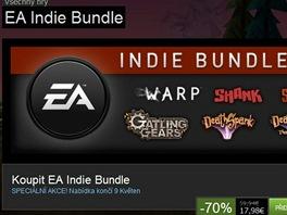 EA Indie Bundle na Steamu