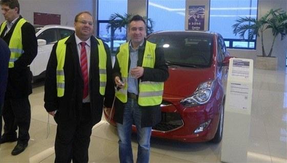 Miroslav Nov�k v Hyundai