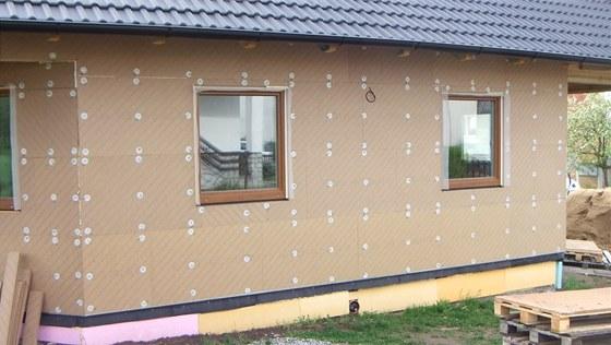 Zateplení fasády přírodními materiály