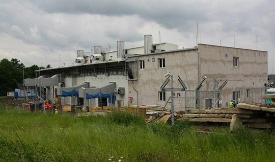 Kompresorovna podzemního zásobníku plynu Třaňovice