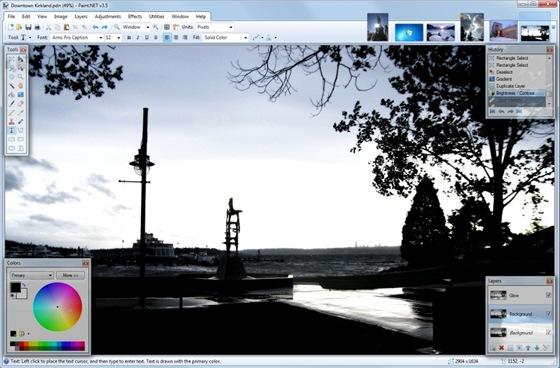 Bitmapový editor Paint.NET uspokojí svými funkcemi nároky běžného uživatele a