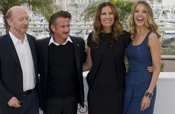 Paul Haggis, Sean Penn, Roberta Armani a Petra N�mcov�