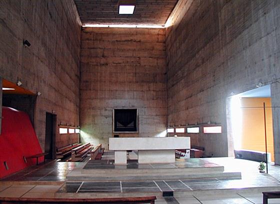 Kostel opatství Sainte-Marie de La Tourette