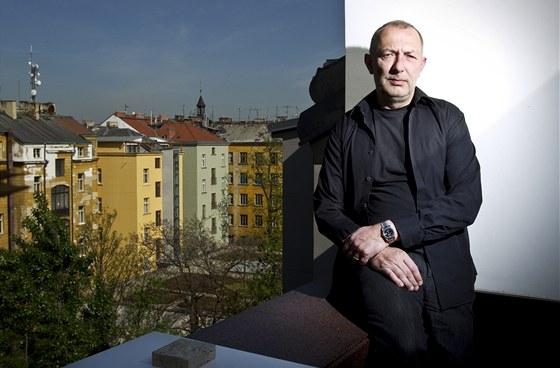 Radan Hubička je oblíbeným architektem českých milionářů.
