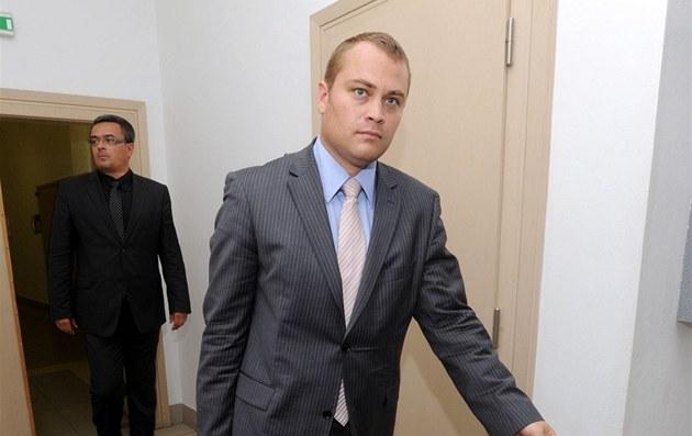 Advokát Davida Ratha Adam Černý na archivním snímku