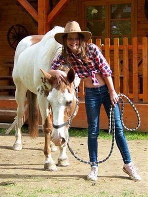 Koňský Ranč v údolí