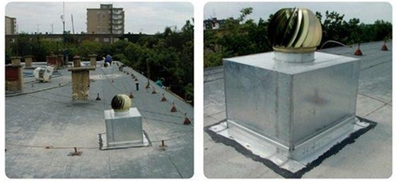 Odvětrávání dvouplášťové střechy po aplikaci foukané izolace