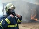Škoda se při požáru vyšplhala na devět milionů korun.