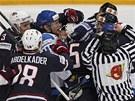 �ARV�TKA. Rozhod�� se od sebe sna�� odtrhnout hr��e v utk�n� mezi Finskem a USA.