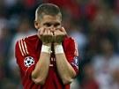 Bastian Schweinsteiger z Bayernu nedal rozhodující pokutový kop a trofej