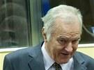 Ratko Mladi� p�ed soudem v Haagu (16. kv�tna 2012)