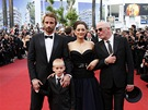 Cannes 2012 - štáb filmu Rust and Bone (herci Matthias Schoenaerts, Armand...