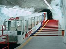 Saas-Fee: nejvýše položené metro na světě