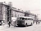 Výstava ukazuje i výstavbu nové Poruby v padesátých letech minulého století.