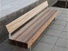 Takto by měly vypadat lavičky v ceně kolem 60 tisíc korun bez DPH pro Tyršovy...